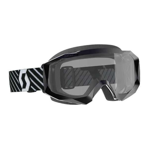 SCOTT HUSTLE X MX SAND DUST BRILLE black/white / grey works